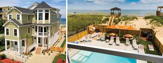 The Shores at Nags Head Oceanfront home