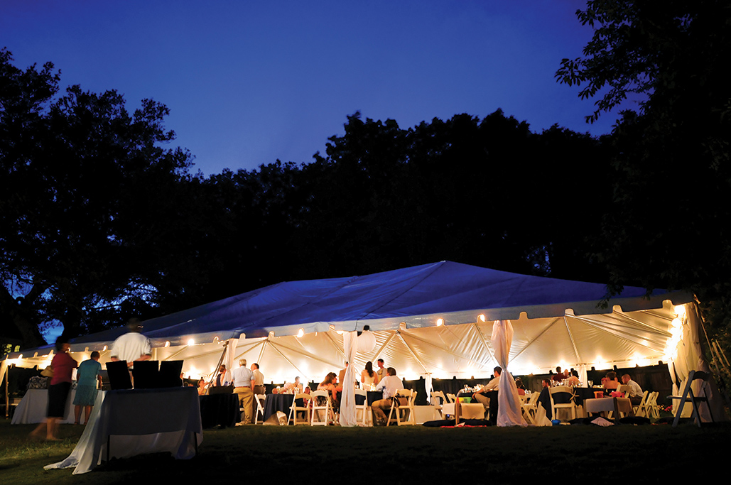 Ocean Atlantic Rentals Wedding Tent