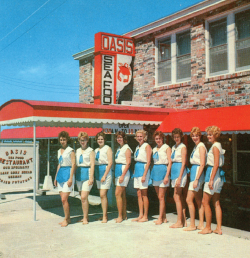 Old image of Oasis Restaurant Staff