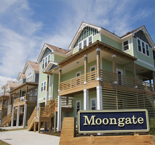 Moongate development in Outer Banks