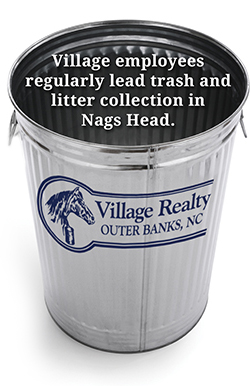 Village Realty Trash Collection