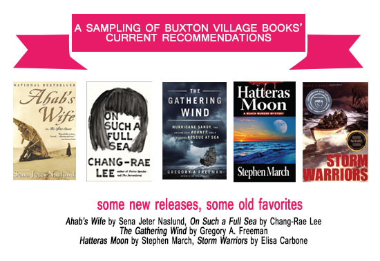 Buxton Village Books Current Recommendations