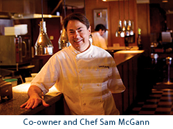 Blue Point Co-Owner and Chef Sam McGann