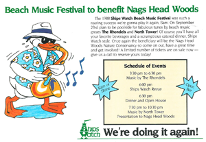 Beach Music Festival to benefit Nags Head Woods