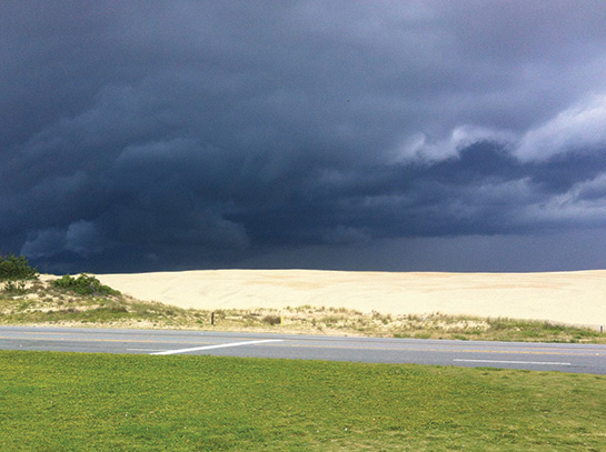 Outer Banks Summer Thunderstorm