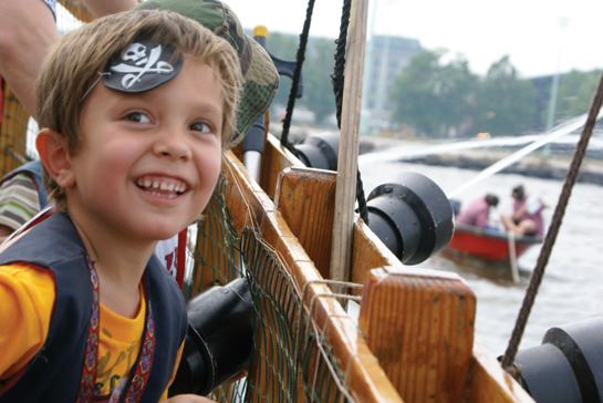 Child at Pirate Adventure