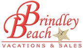 Brindley Beach Vacations and Sales Logo