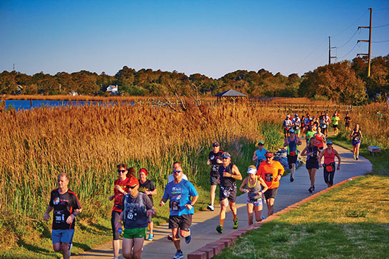 Outer Banks Marathon Runners