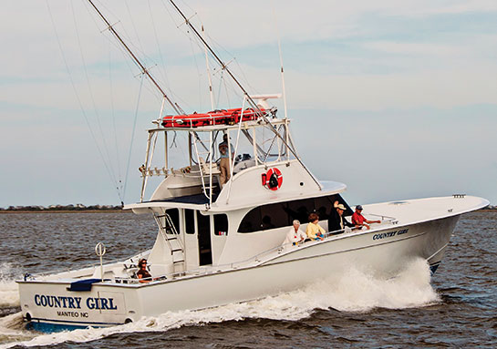 Country Girl Charter Boat
