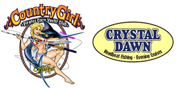 Country Girl and Crystal Dawn logos