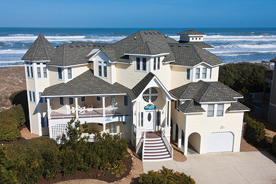 Oceanfront home in Outer Banks