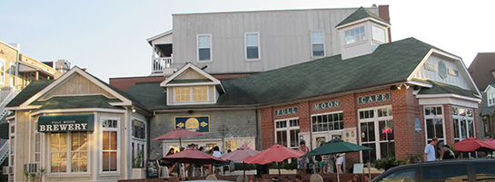Full Moon Cafe and Brewery exterior