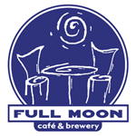 Full Moon Cafe and Brewery logo