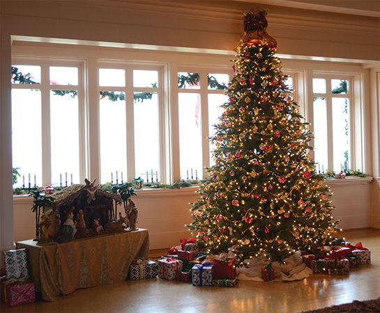 Christmas Tree at Whalehead in Corolla