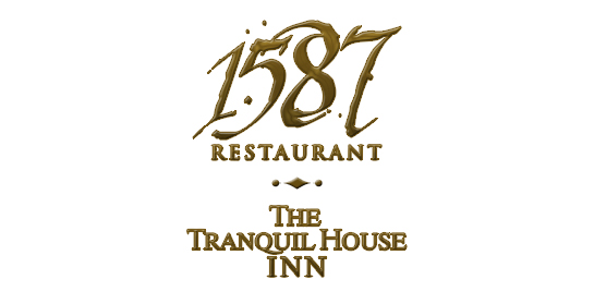 1587 and Tranquil House Inn Logo