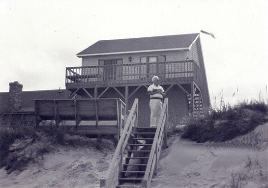 Old Beachfront cottage on Outer Banks