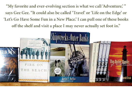 Books about the Outer Banks