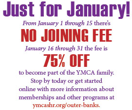 YMCA No Joining Fee Flyer