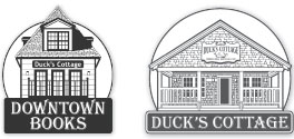 Ducks Cottage and Downtown Books logos