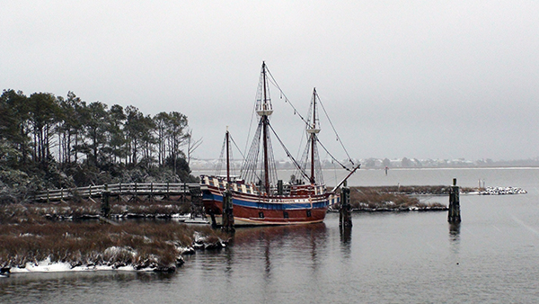 Downtown Manteo The Elizabeth II