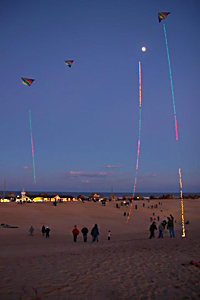Kitty Hawk Kites' Kites with Lights