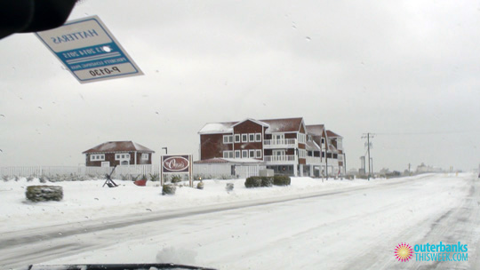 Nags Head NC Snow