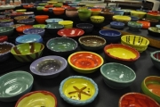 Empty Bowls at Food Bank