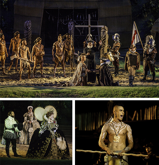Scenes from the Lost Colony Play