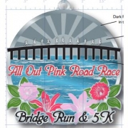 5th annual All Out Pink Road Race 10 Mile Bridge Run and 5k