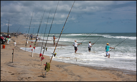 Invitational surf fishing tournament hatteras village for Surf fishing virginia beach