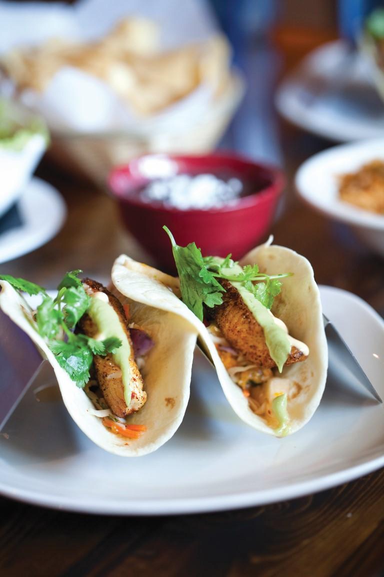 Tacos de pescado agave roja mexican restaurant corolla for Agave mexican cuisine