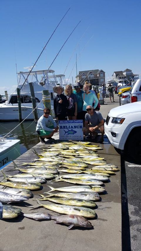 Reliance offshore fishing june 10 2017 reliance for Fishing charters outer banks