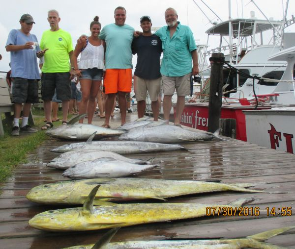 Wow july 31 2016 oregon inlet fishing center for Oregon inlet fishing charters