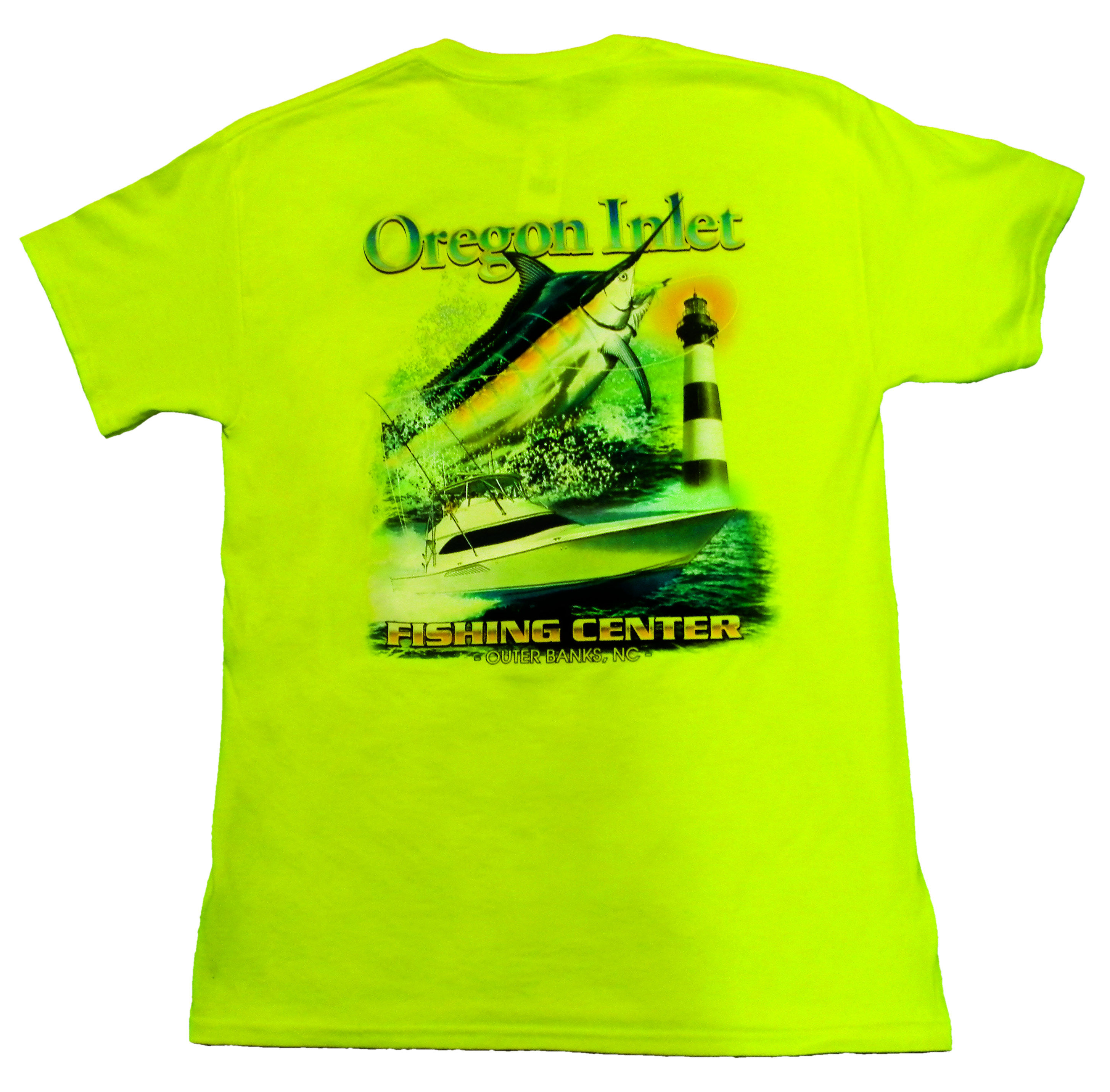 Custom T Shirts Oregon Inlet Fishing Center Outer