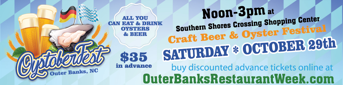 Outer Banks Fall Restaurant Week - Oystoberfest