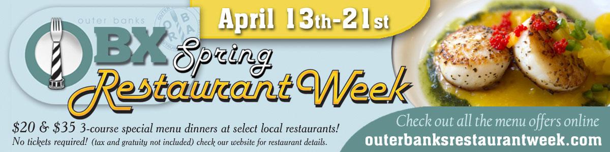 Spring Restaurant Week