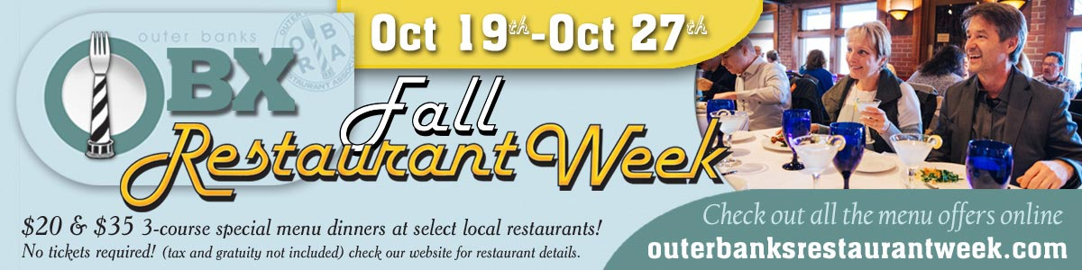 Outer Banks Fall Restaurant Week