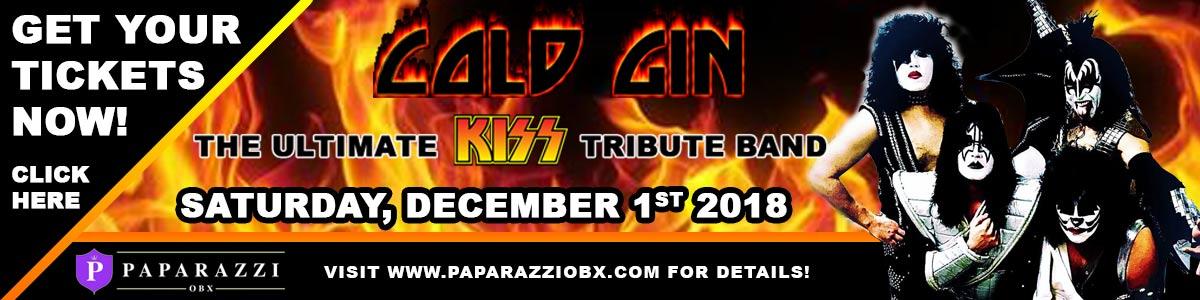 KISS Tribute Band at Paparazzi OBX