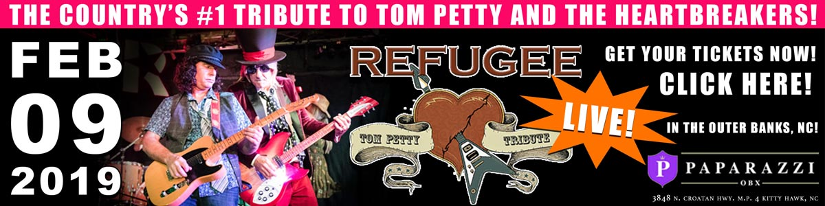 Refugee Tom Petty Tribute Band
