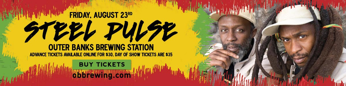 Steel Pulse at Outer Banks Brewing Station