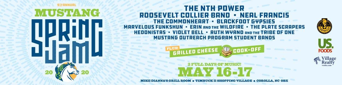 Mustang Spring Jam Outer Banks Music Festival