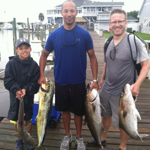 T-Time Charters, Today's Catch!