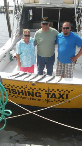 Fishing Taxi Sportfishing, A birthday for his father