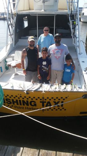 Fishing Taxi Sportfishing, Taking the boys out fishing