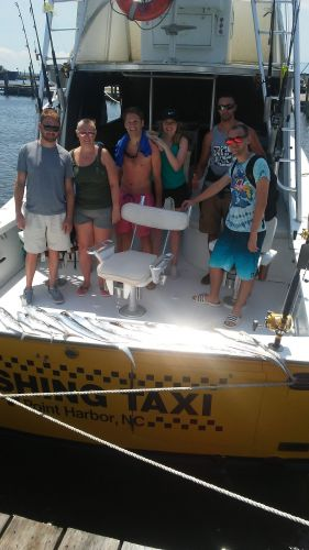 Fishing Taxi Sportfishing, Brothers and sisters having fun
