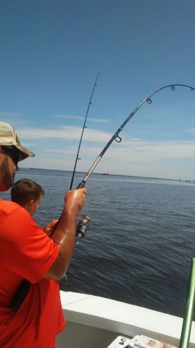 Fishing Taxi Sportfishing, Two Dads four boys so much excitement