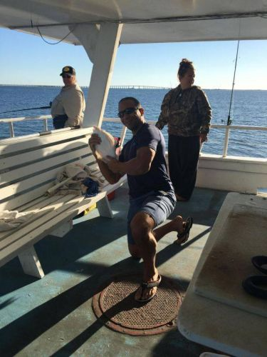 """Miss Oregon Inlet Head Boat Fishing, """"BE A KID"""" Saturday, October 29th, 2016"""