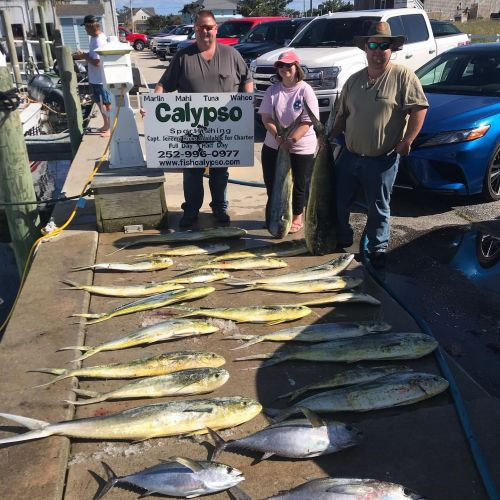 Calypso Sportfishing Charters, May 8th-