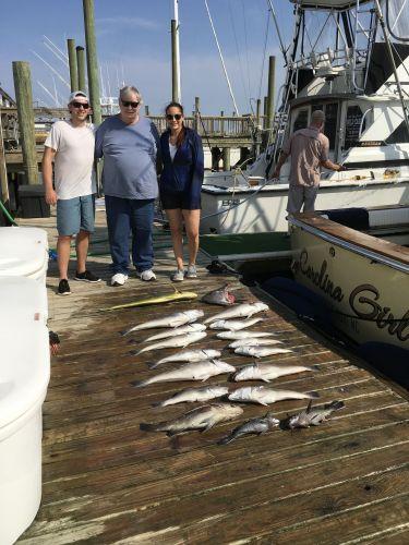 Carolina Girl Sportfishing Charters Outer Banks, Tile fish & Mahi