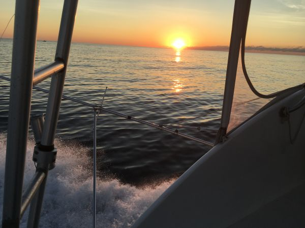 Carolina Girl Sportfishing Charters Outer Banks, What a pretty day , Thinking of Fishing